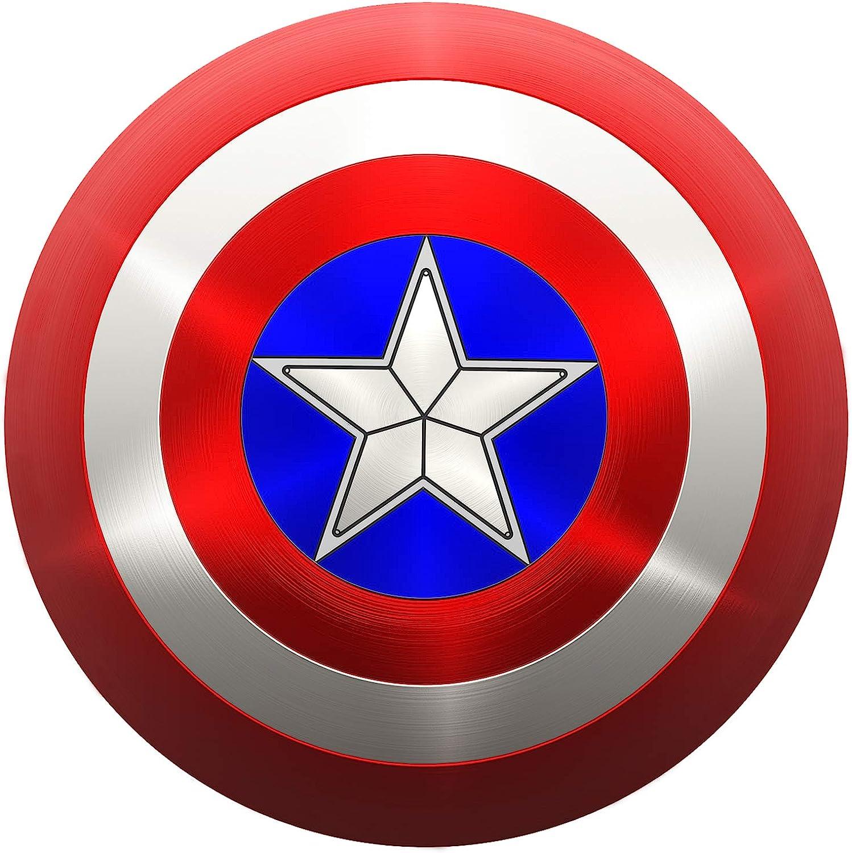 Metal Captain America Shield Captain America Adult Shield 20 inch Life Size  Captain America Real Shield
